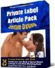 Thumbnail PLR (Private Label Rights) Online Dating Article Pack